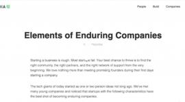 红杉资本在他们官网发了一篇文章,总结一家创业企业成