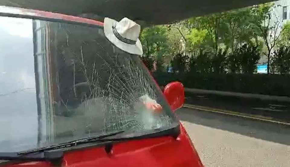 济南无影山中路发生车祸,男童过马路时被撞身亡!