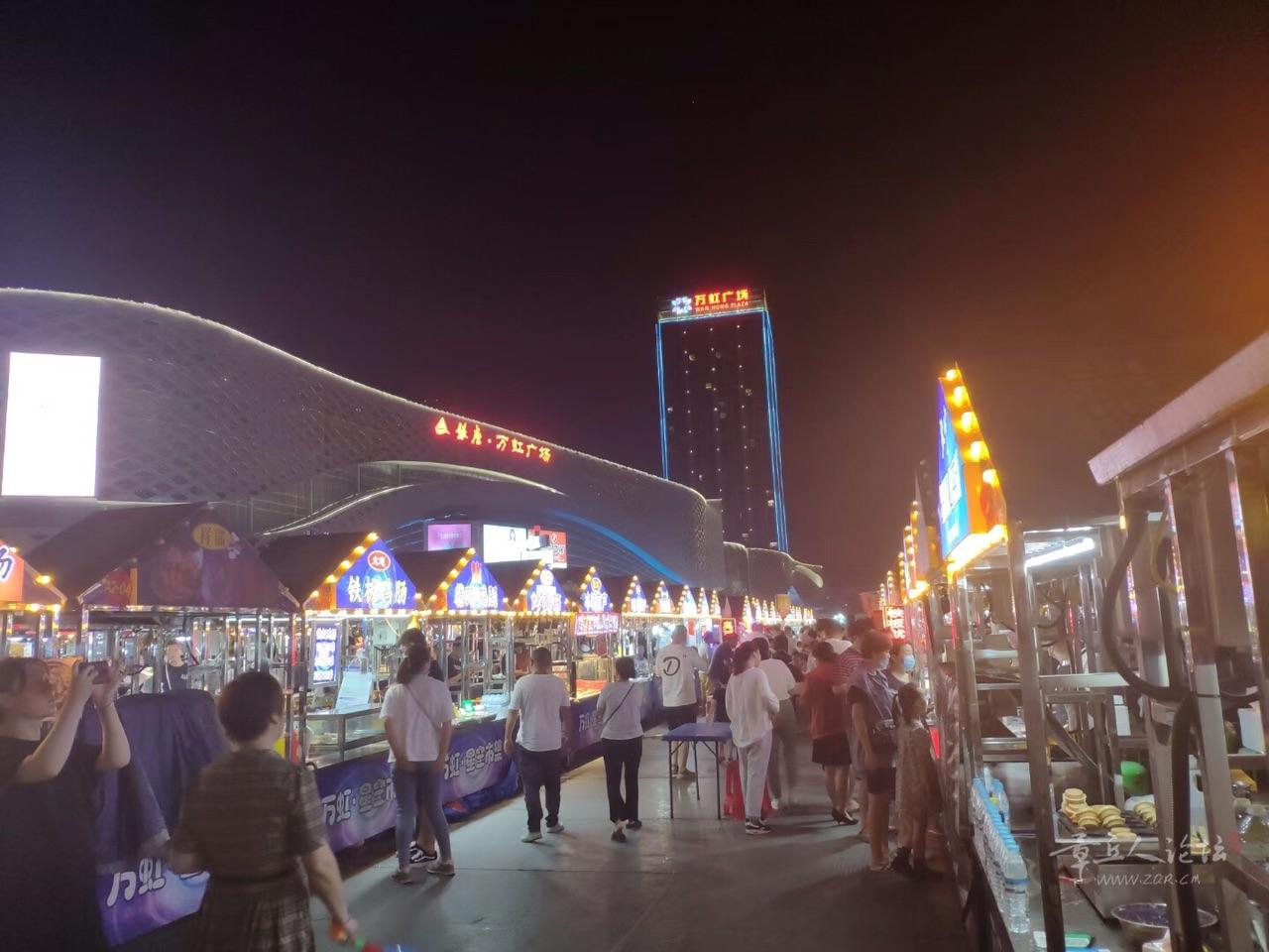 看看济南的夜市