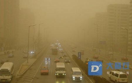 气象台发文:今日沙尘污染将影响全市!沙尘暴要来章丘了?