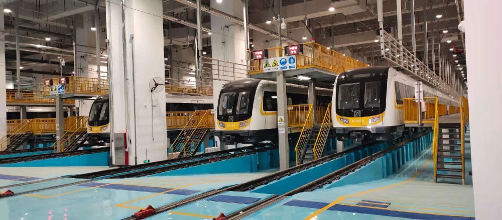 济南地铁2号线2021年投入运营 车辆已进行联调