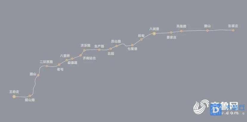 济南2号线地铁静等通车!通章丘的8号线还会远吗?