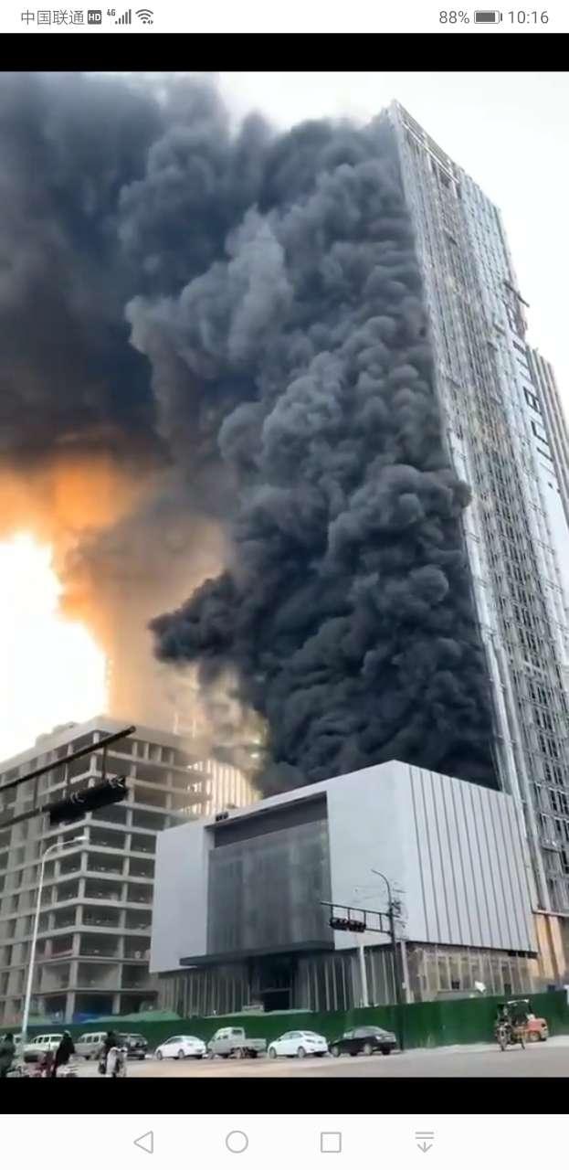 火势很猛啊,天干物燥多加小心。
