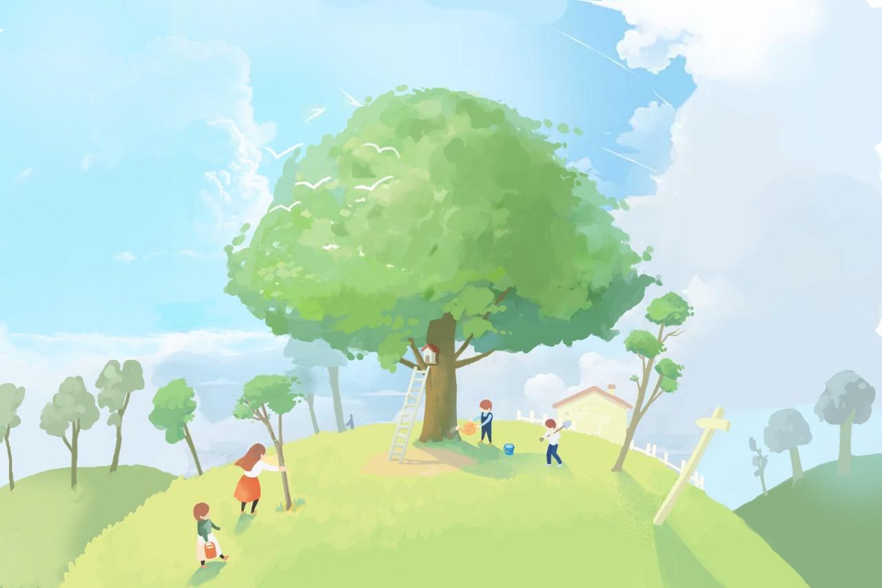 植树节 | 看看中国人最爱的10种树木,包含10种吉祥寓意
